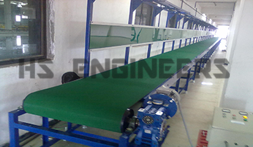 Flat Belt Conveyor Noida
