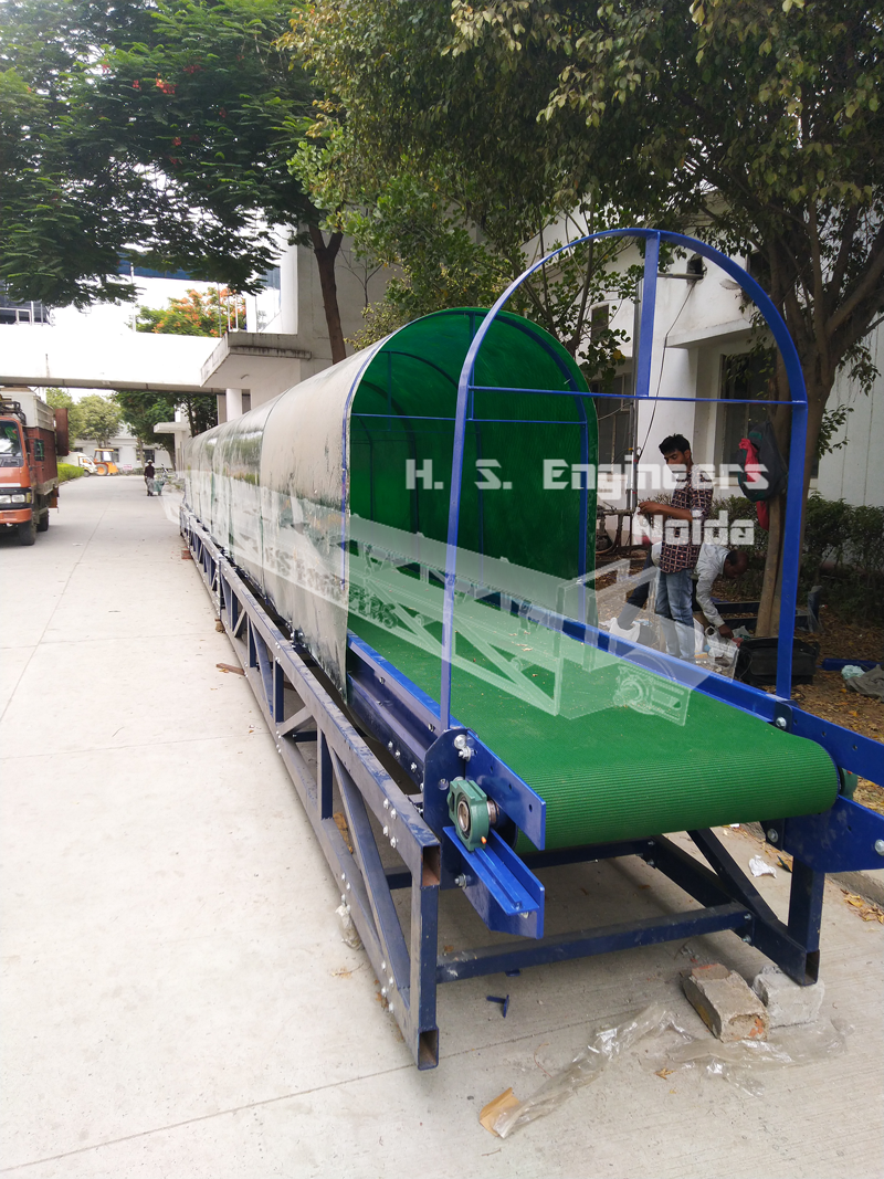 Box transfer conveyors noida